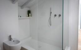 Box docciaangolare in cristallo visarm
