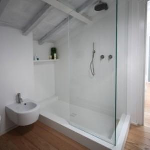Box doccia angolare in cristallo