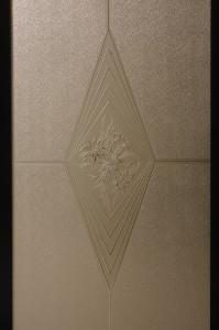 Promozione Vetro Madras - Disegno Rombo Bronzo
